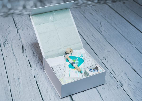 Inhalt der HappyBabyBox-Smal